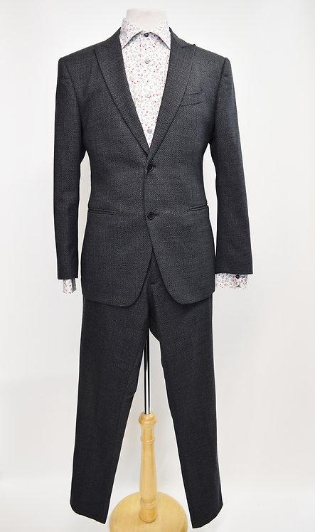 John Varvatos Gray Wool Suit Size 38R