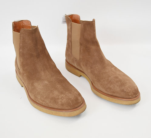 Common Projects Tan Suede Boots Size 8