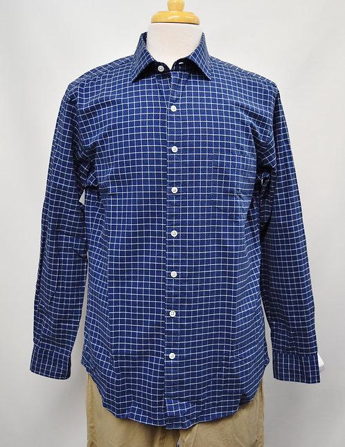 Rodd & Gunn Blue Check Shirt Size Large
