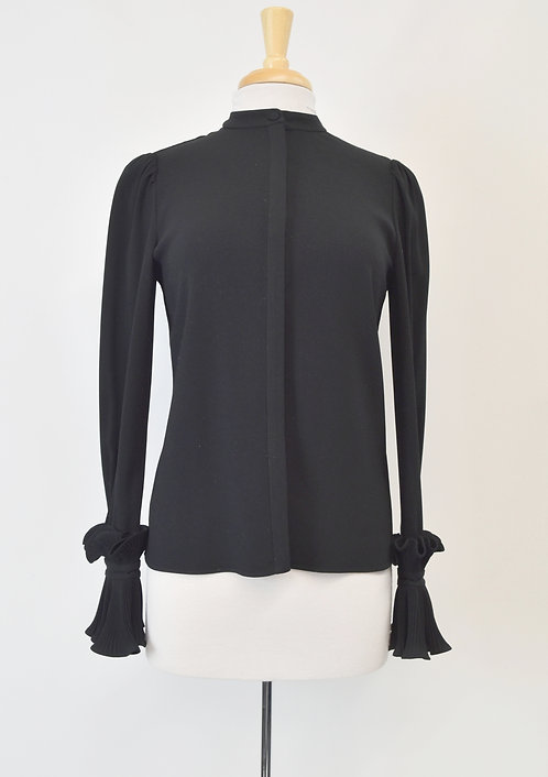 CO Black Blouse Size Small