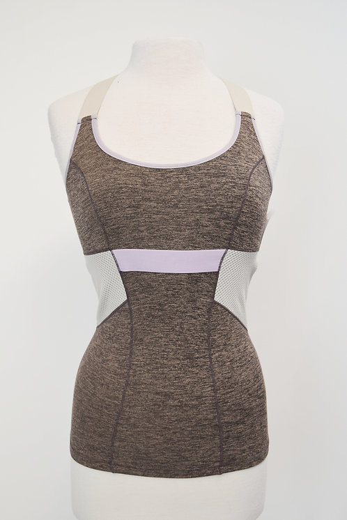 VPL Taupe & Light Purple Tank Top Size XS