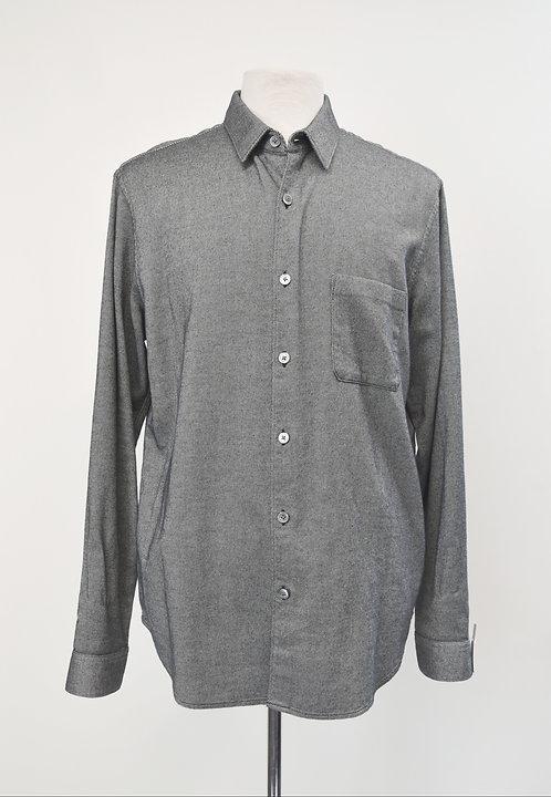 Theory Gray Soft Twill Shirt Size XL