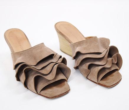 Creatures Of Comfort Blush Leather Block Heels Size 6