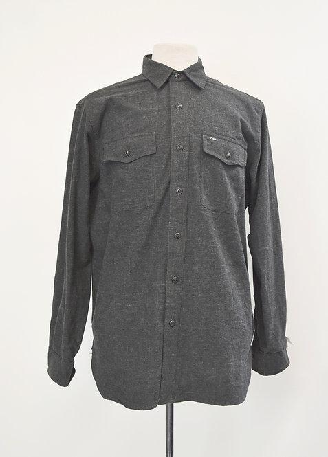 Polo Ralph Lauren Gray Soft Cotton Shirt Size Large
