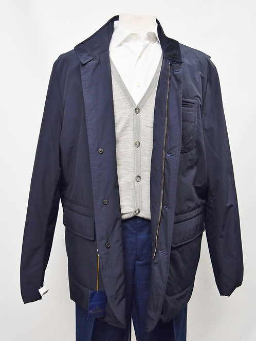 Brooks Brothers Navy Coat Size XXL