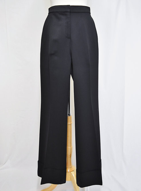 Stella McCartney Black Flare Pants Size 8