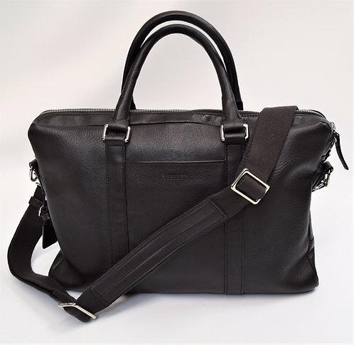 Shinola Dark Brown Leather Briefcase
