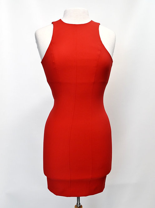 Alexander Wang Red Bodycon Dress Size 2