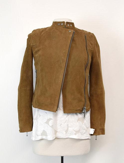AllSaints Tan Suede Jacket Size XS (0)