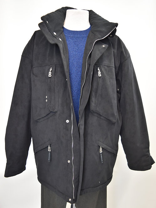 Bogner Black Insulated Coat Size XL