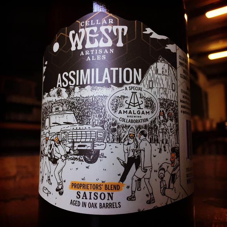 Amalgam Brewing & Cellar West Collaborate On Assimilation