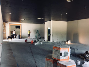 Building Out Lafayette Space