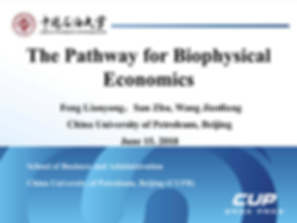 2The pathway for Biophysical Economics20