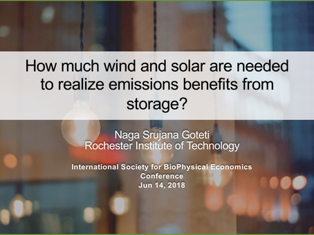 How much wind and solar are needed to realize emissions benefits from storage?