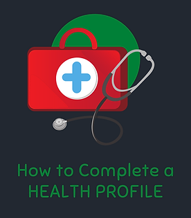 How to complete a health profile tutoria