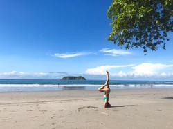 beach-headstand