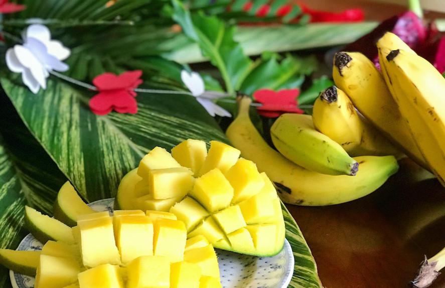 Tropical fruit spread