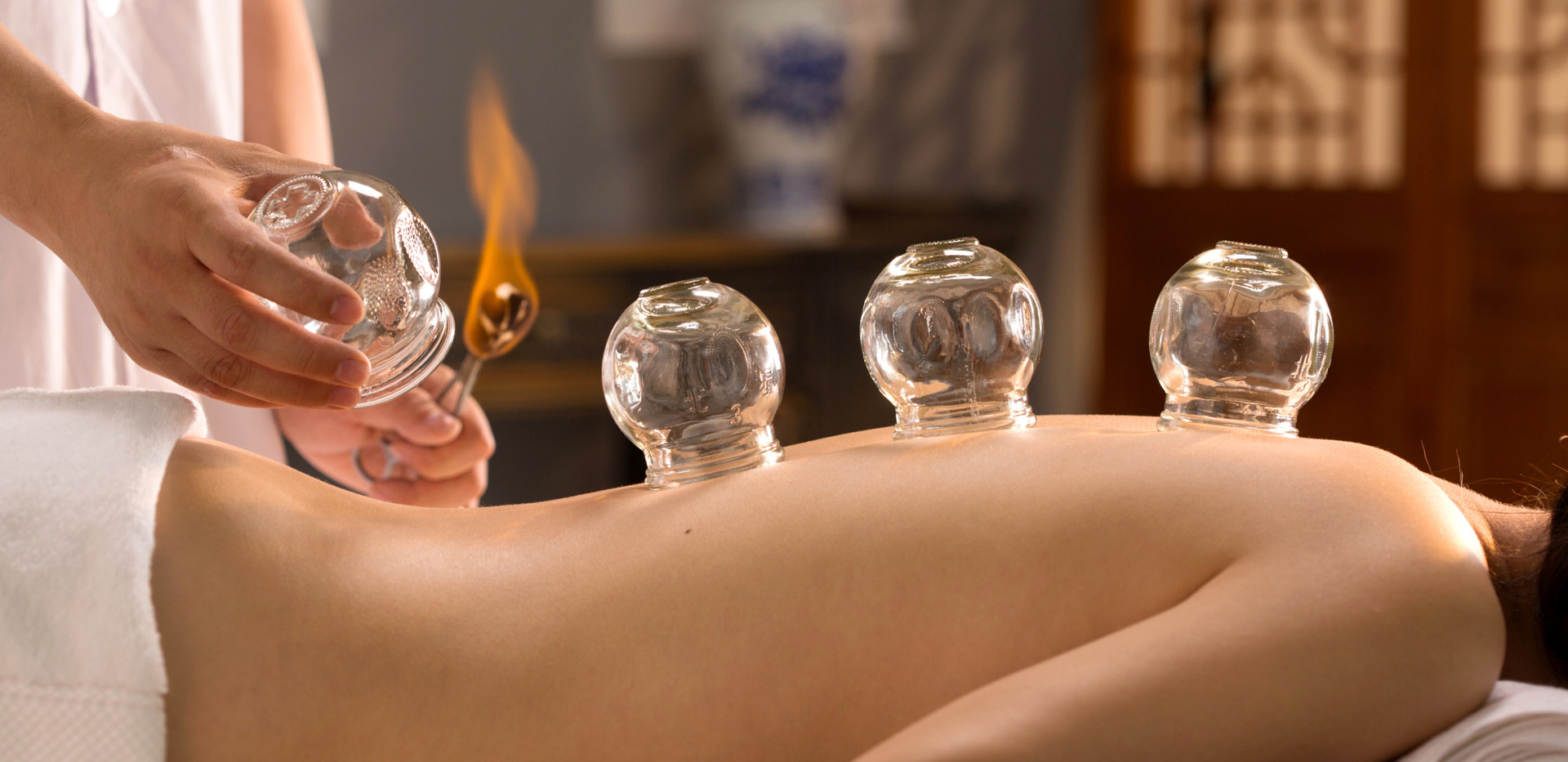 Ayurveda cupping technique