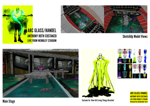 ARC GLASS/HANDEL