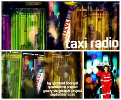 'Taxi Radio' - Design Images
