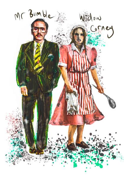 Mr Bumble & Widow Corney