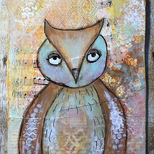 Whimsical Owl