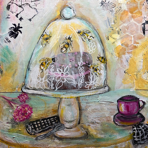 The Cake Stand- print