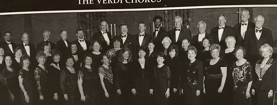 Amber sings with the Verdi Opera Chorus