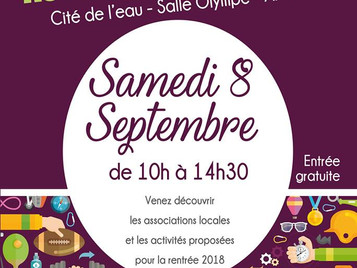 Forum des associations à Publier - Save The Date