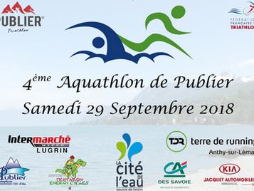 Dossier participant - Aquathlon de Publier 2018