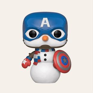 Pop Marvel: Holiday Captain America