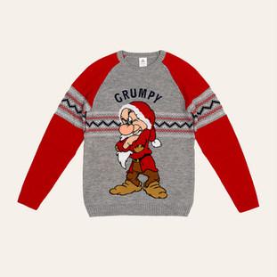 Pull de Noël adulte Grincheux