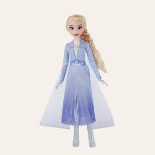 Poupée Elsa chantante