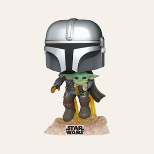 Figurine Pop! Le Mandalorien et l'Enfant - Star Wars: The Mandalorian