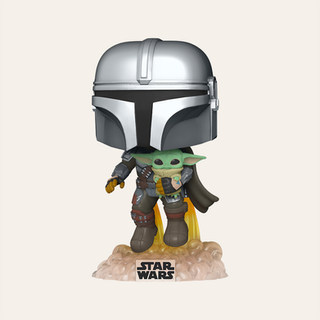 Figurine Pop! Le Mandalorien et l'Enfant - Star Wars: The Mandalorian