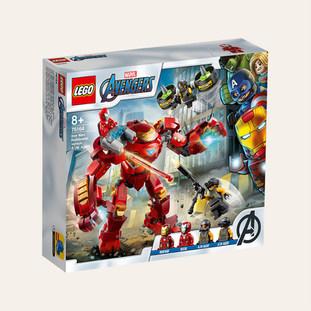 Iron Man Hulkbuster contre un agent de l'A.I.M