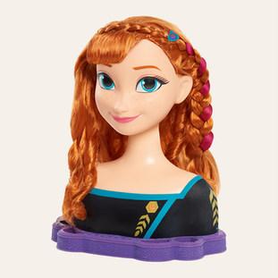 Tête à Coiffer Anna – La Reine des Neiges 2