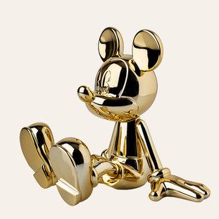 Sitting Mickey