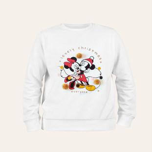 Sweat Mickey et Minnie pour enfant