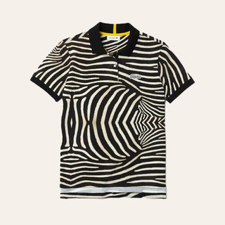 Polo zèbre Lacoste x National Geographic