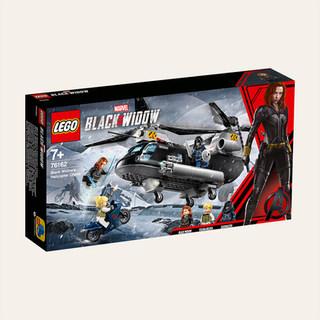 Marvel Avengers La poursuite en hélicoptère de Black Widow