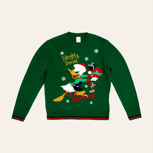 Pull de Noël adulte Donald