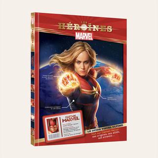 MARVEL - Les Héroïnes - Captain Marvel
