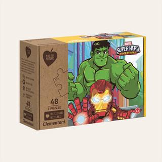 Puzzle Eco-responsable Marvel Super hero