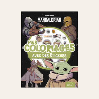 THE MANDALORIAN - Mes Coloriages avec Stickers - Star Wars