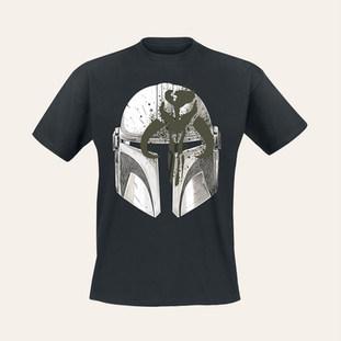 T-shirt Le Mandalorien et l'Enfant