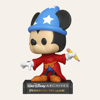 Figurine POP Disney: Archives- Sorcerer Mickey