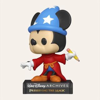 Figurine POP Disney: Archives- Sorcerer Mickey