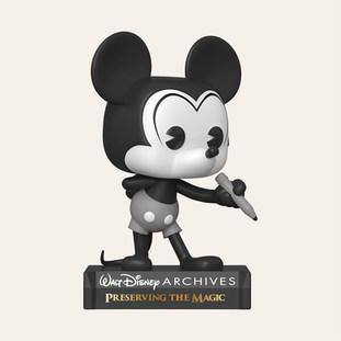 Figurine POP Disney : Archives- Plane Crazy Mickey