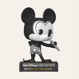 Figurine POP Disney : Archives- Plane Crazy Mickey